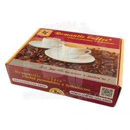 """Коробка картонная подарочная """"Romantic Coffee"""""""