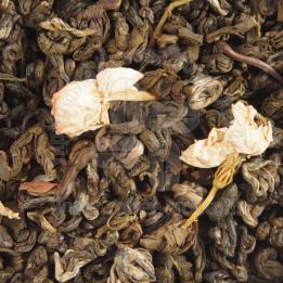 Серебранная улитка с жасмином